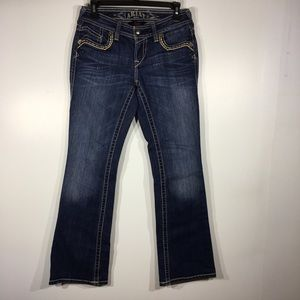 Ariat Low-rise Flare Jeans 26S Distressed